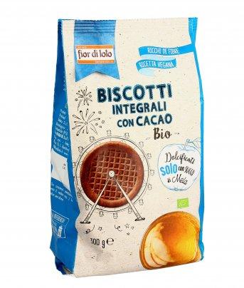 Biscotti Integrali con Cacao Bio