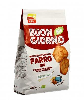 Biscotti Integrali di Farro Bio - Buongiorno