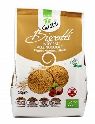 Biscotti Integrali Bio alle Nocciole - BioGustì