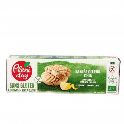 Biscotti Frollini Limone e Chia - Senza Glutine