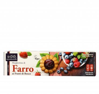 Biscotti Margheritine di Farro ai Frutti di Bosco