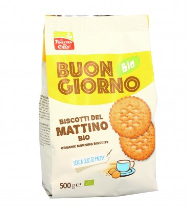 Biscotti del Mattino con Frumento - BuonGiorno Bio