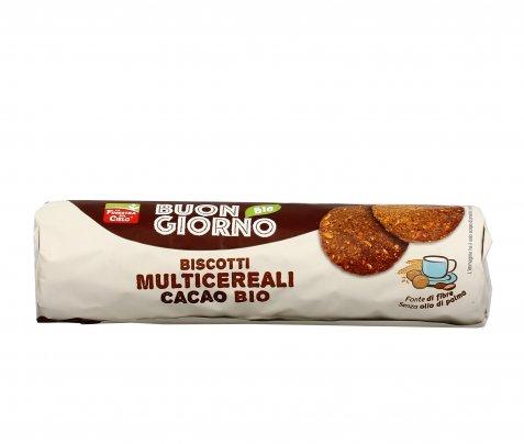 """Biscotti Multicereali al Cacao Bio """"Buongiorno"""""""