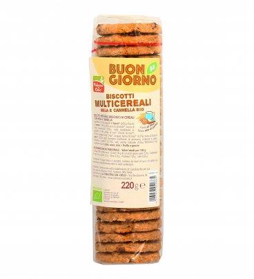 Biscotti Multicereali Mela e Cannella