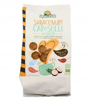Biscotti Germe di Grano Saraceno al Cocco - Carosello Saracenum