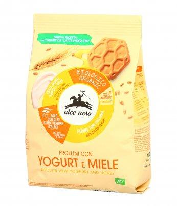 Biscotti Frollini Yogurt e Miele Bio