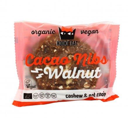Biscotto Bio di Avena con Anacardi, Noci e Cacao