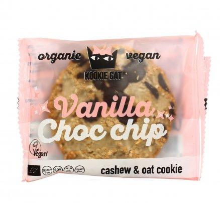 Biscotto Bio di Avena con Anacardi, Vaniglia e Scaglie di Cioccolato