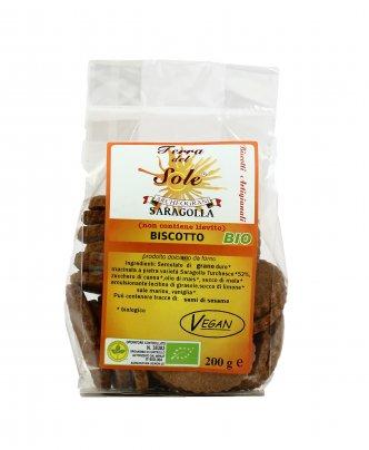 Biscotti Biologici Senza Lievito - Saragolla