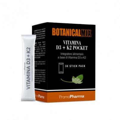"Vitamina D3 + K2 ""Botanicalmix""- Integratore Sistema Immunitario"