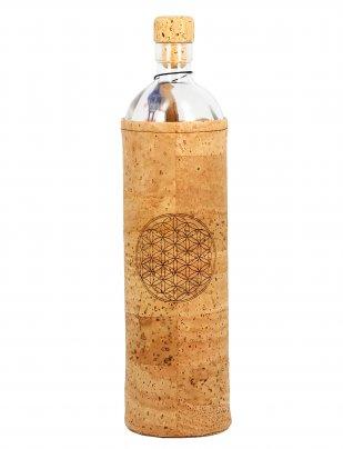 Bottiglia Vetro Programmato Spiritual Flower Of Life 750 ml