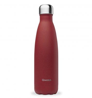Bottiglia Termica - Rosso Spezie (Effetto Granuloso)