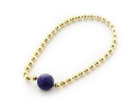 Bracciale Michele Bronzo, Oro e Sugillite Perle Grandi
