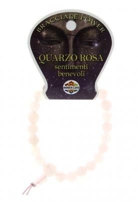Bracciale Power Quarzo Rosa