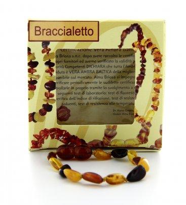 Braccialetto Ambra Baby - Multicolor