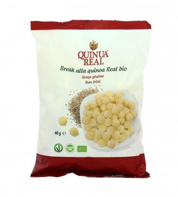 Snack Salato di Mais e Quinoa - Break alla Quinoa Real Bio