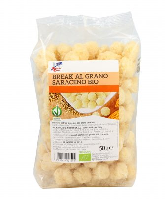 Snack Biologico Croccante al Grano Saraceno - Break Bio