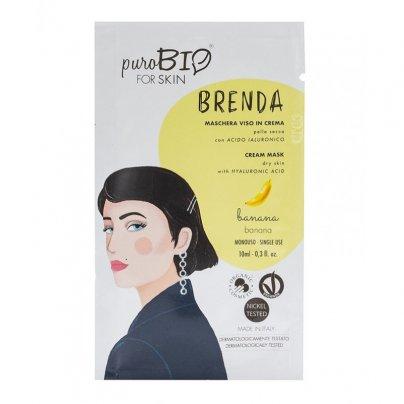 Maschera Viso in Crema Pelle Secca - Brenda Banana
