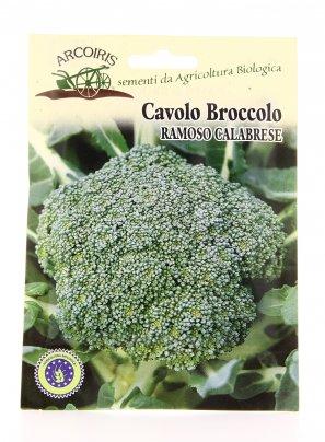 BU006 Semi di Cavolo Broccolo Ramoso Calabrese