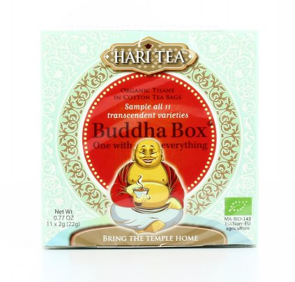 Buddha Box - 11 Tisane Speziate Biologiche