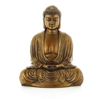 Buddha Giapponese in Meditazione - 22 cm