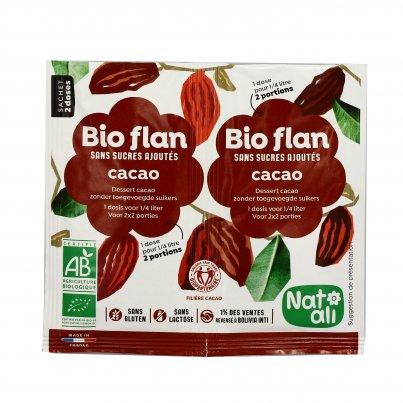 Budino al Cacao Senza Zucchero Bio