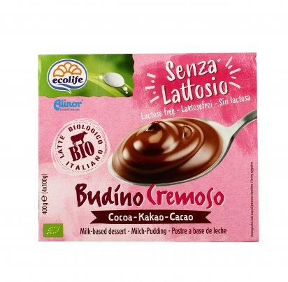 Budino Cremoso Senza Lattosio al Cacao - Ecolife