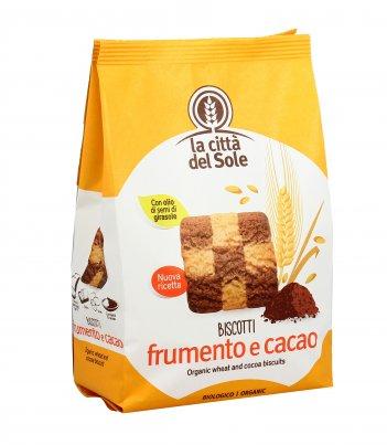 Biscotti Frumento e Cacao Bio