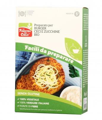 Preparato per Burger Ceci e Zucchine Bio