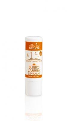 Burro Labbra Bio Solare Spf 15 - Protezione Media