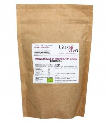 Farina di Fave di Theobroma Cacao Biologico