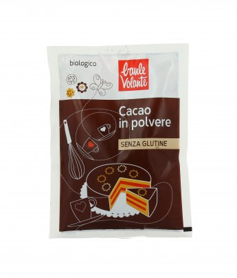 Cacao in Polvere Biologico - Senza Glutine