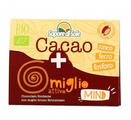 Cacao e Miglio Attivo - Cioccolato Fondente Bio