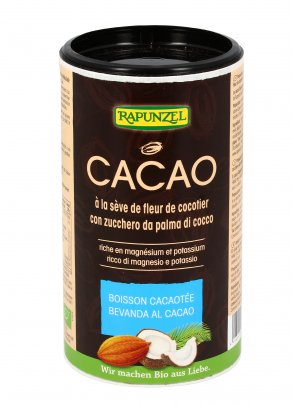 Bevanda al Cacao con Zucchero di Cocco