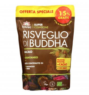 Risveglio di Buddha - Cacao Crudo Istantaneo 414 gr. (+15% Gratis - Edizione Limitata)