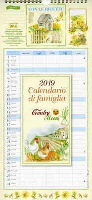 Calendario di Famiglia 2019 - Country Moon