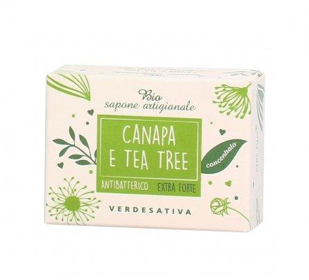 Sapone Antibatterico Extra Forte con Canapa e Tea Tree