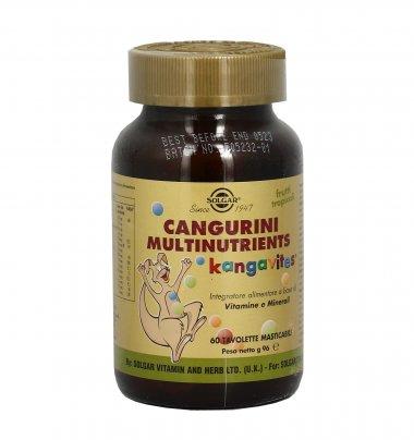 Cangurini Multinutrients - Frutti di Bosco e tropicali