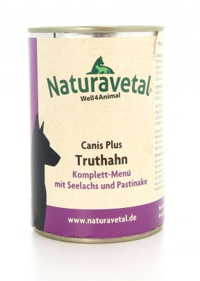 Canis Plus Truthahn - Canis Plus Menu Completo Tacchino con Salmone e Pastinaca