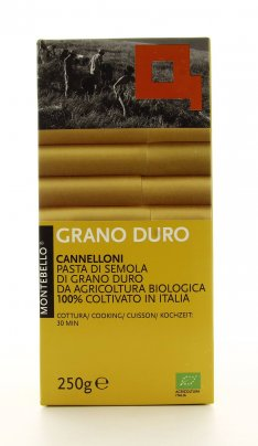 Cannelloni di Semola di Grano Duro Bio - 250 gr.