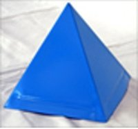 Cappello Sovrapiramidale Blu