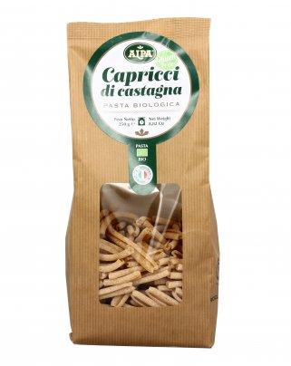 Pasta Capricci di Castagna Bio - Senza Glutine