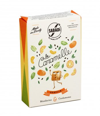 Le Caramelle Dedella - Mandarino e Cardamomo 40 gr.