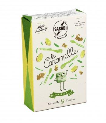 Caramelle Citronella e Zenzero - Gisella 40 gr.
