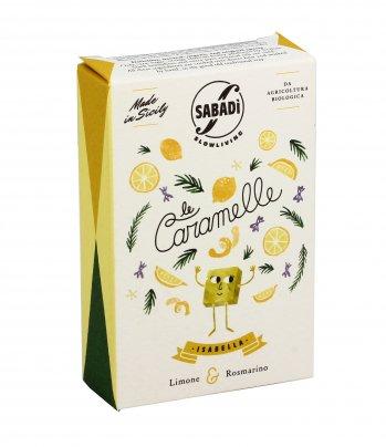 Caramelle Limone e Rosmarino - Isabella 40 gr.