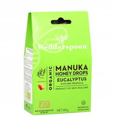 Caramelle al Miele Manuka Attivo con Eucalipto e Propoli d'Ape