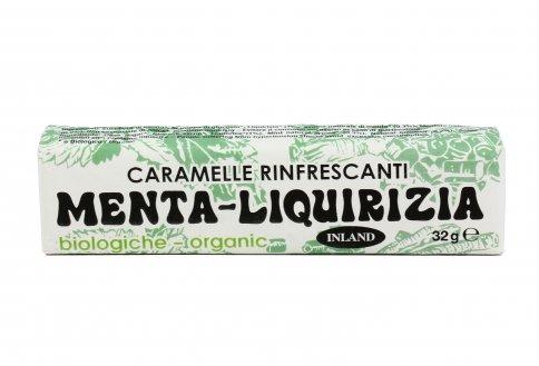 Caramelle Rinfrescanti - Menta Liquirizia