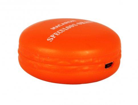 Caricatore Macaron Charger per Cellulare Colore Arancione