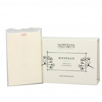 Card Profumate per Armadio e Cassetti Risveglio (Tuberosa e Gardenia)