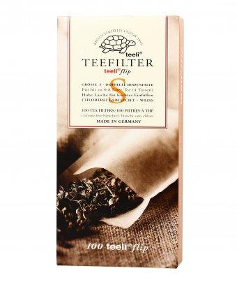 Filtri Carta per Infusi e Tè Sfusi 100 filtri (Taglia 2) - per teiera